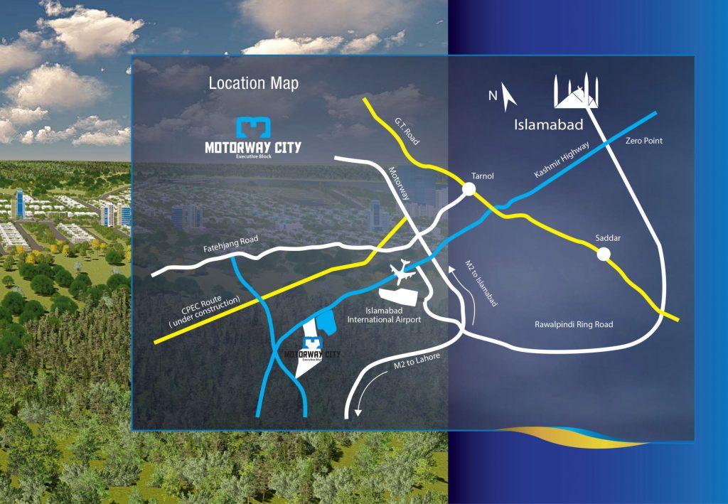 Motorway City Executive Block Location