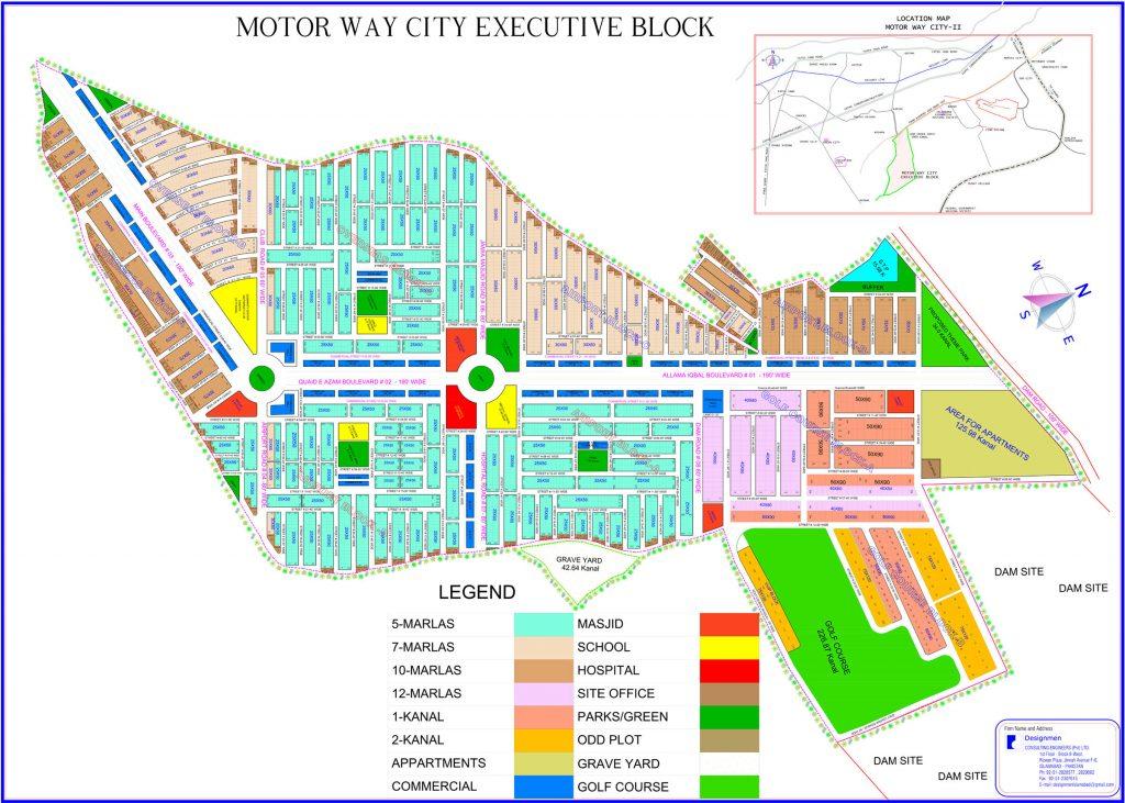 Motorway City Executive Block Master Plan