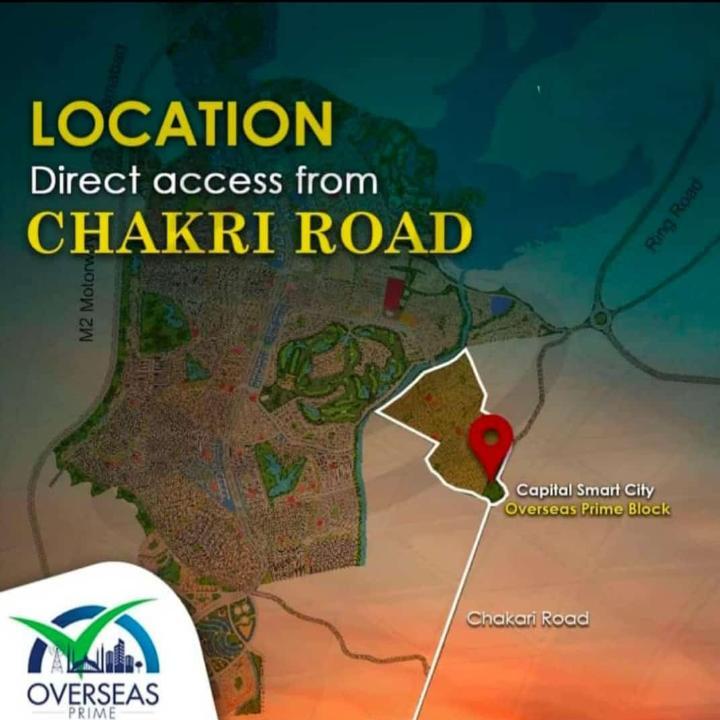 Overseas Prime Block - Capital Smart City Location